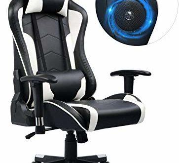 41Mg9PSXKlL 363x330 - GTPLAYER Gaming Stuhl Bürostuhl Schreibtischstuhl UMIT Serie Kunstleder Drehstuhl Chefsessel Höhenverstellbarer Gamer Stuhl (Weiß)