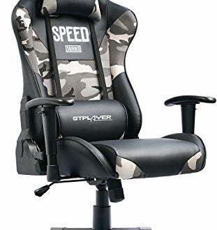 41l+OuYKJHL 311x330 - GTPLAYER Gaming Stuhl Bürostuhl Schreibtischstuhl PC Stuhl Kunstleder Gamer Stuhl höhenverstellbarer Chefsessel Ergonomisches Design