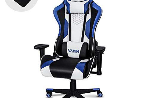 VADIM Gaming Stuehle Ergonomischer Buerostuhl Gamer Stuhl Komfort Racing stuhlfuer den Komfort 500x330 - VADIM Gaming-Stühle Ergonomischer Bürostuhl GamerStuhl Komfort Racing stuhlfür den Komfort von Videospielern entwickelt