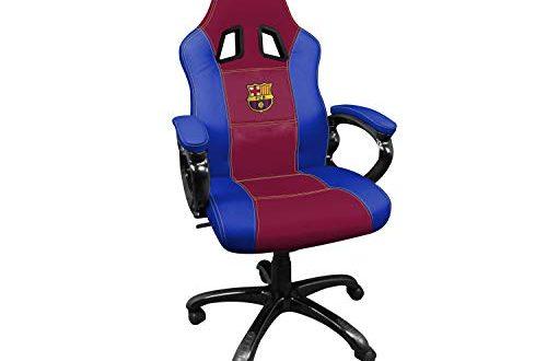 Subsonic SA5496 12 Gaming Schalensitz Gamer Stuhl mit ergonomischem Sitz 500x330 - Subsonic SA5496-12 Gaming Schalensitz - Gamer Stuhl mit ergonomischem Sitz - Drehbarer Büro- und Spielstuhl Fc Barcelona