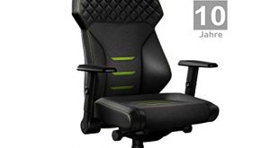 BACKFORCE One – Premium Gaming StuhlSchreibtischstuhl mit optimaler Ergonomie fuer 310x165 - BACKFORCE One – Premium Gaming Stuhl/Schreibtischstuhl mit optimaler Ergonomie für langes Sitzen – Gaming Chair Made in Germany – Entwickelt mit E-Sports Profis für Gamer